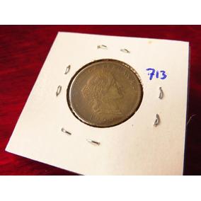 Bb#713 Moneda Del Mundo 20 Centavos Peru 1960