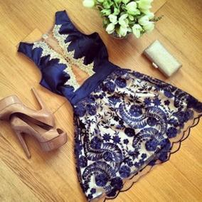 Vestido De Luxo Importado + Frete Gratis