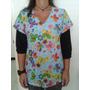 Oferta! Blusas Estampadas En Microfibra + Pantalón Unicolor
