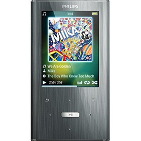 Philips Gogear Ariaz De 8 Gb Reproductor Mp3 (plata)
