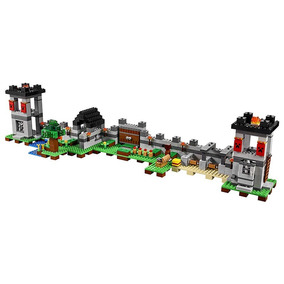 Blocos De Montar Minecraft A Fortaleza 795 Pçs Frete Grátis