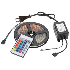 Tira Led Rgb 5m Lampara Techo Luminaria 300 Leds