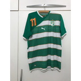 Camisa Original Costa Do Marfim - Copa 2010 - #11 Drogba