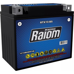 Bateria Raiom Rtx10-bs - Suzuki Boulevard Vz M800