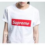 Camiseta Supreme Hip Hop Skate Lady Gaga