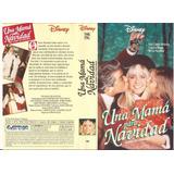 Una Mama Para Navidad Vhs Walt Disney Olivia Newton-john