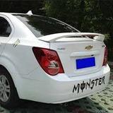 Spoiler Aleron Modelo Chevrolet Sonic Sedan Blanco