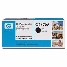 Toner Hp Laserjet Q2670a Negro Hp 308a Para 3500/3550/3700