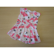 Vestido Lilica Ripilica Baby Original Estampado Rosa Pb/gb