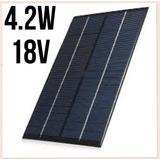 3x Painel Placa Solar 18v-0.3amp Celula Fotovotaica 4.2w
