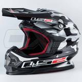 Casco Moto Ls2 Mx456 Touareg Camo Motocross Enduro