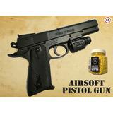Pistola 1:1 Airsoft + 1000 Balines 6mm Gratis