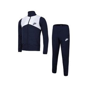 Pants Conjunto Deportivo Nike Fitness Track Suit Azul Marino