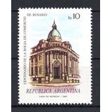 Argentina 1984 Gj 2170** Me 1471 Mint Rosario Bolsa Comercio