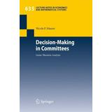 Livro Decision-making In Committees Maaser, Nicola Friederik