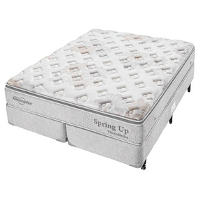 Cama Box Molas Americanflex Queen 158x198x67 Spring Up Visco