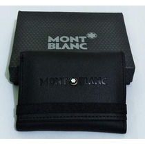Cartera-billetera Mont Blanc De Caballero Envio Gratis