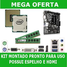 Kit Placa Mãe Ddr3 + Dual Core+ 2gb De Memória