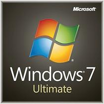 Windows 7 Ultimate 100% Original Español 32/64 Bits