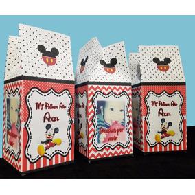 Bolsita Golosinera, Cajita Milk Box Con Foto Personalizadas