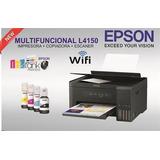 Epson L4150 Impresora Multifuncion Recargable Wifi
