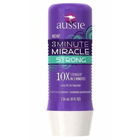 Máscara Tratamento Aussie 3 Minute Miracle Strong 236 Ml