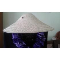 Sombrero Tipo Chino De Palma