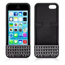Teclado Qwerty Con Carcaza Para Iphone 5 Y 5s Marca Typo