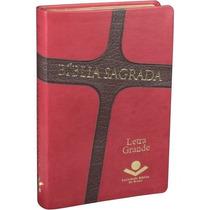 Bíblia Sagrada Letra Grande Revista E Atualizada