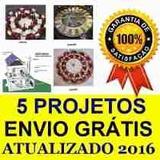 4 Projetos Gerador Eólico 5.500w 3.000w 1500w 1000w + Solar