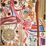 Quadro Abstrato Tela Pintura A Óleo Decorativo Pintado A Mão