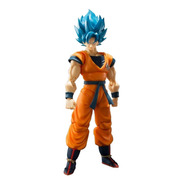 Boneco Sh Figuarts Son Goku 2.0 God Blue Ssgss Dragon Ball