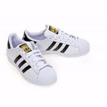 Zapatillas Adidas Superstar Y Tornasol Oferta!! Entrega Inme