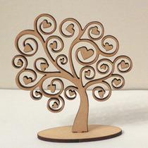 Árbol De La Vida En Fibro Fácil 10cm