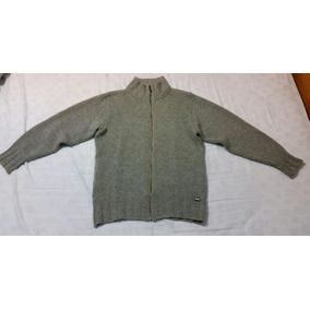 Campera Sweater Legacy De Lana Talle M Color Gris