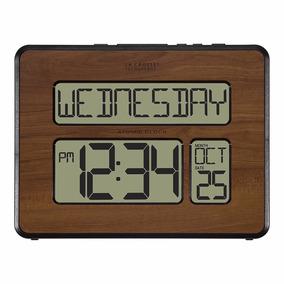 Reloj De Pared Digital Con Calendario Envio Gratis
