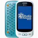 Celular Lg Gt350 Branco Azul Seminovo Leves Defeitos Sem Ta