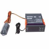 Controlador Digital De Humedad Del Aire Higrostato Sonda