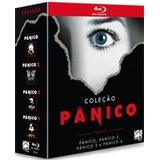 Blu Ray Coleção Pânico - Box 4 Filmes, Dub/leg. Lacrado
