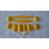 Kit De Borrachas Completo Óculos Modelo Xsquared - Amarelo 52aeeef3d4