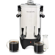 Cafetera Doble Dispensador Home Craft 45 Tazas Acero Inox.