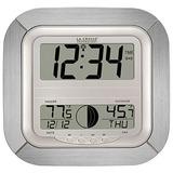 Reloj De Pared De La Crosse Technology Ws Al-it Atómica Dig