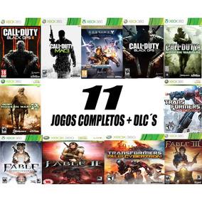 Pacote De 11 Jogos Originais + Dlc Xbox 360 Envio Imediato!