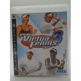Virtua Tennis 3 Ps3 Original Mídia Física