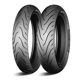 Par De Pneus Michelin Honda Biz 125 E Pop 100 Mais Largo