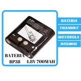 Bateria 4,8v 700mah Rádio Motorola.talkabout