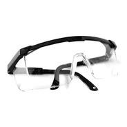 2 Lentes Goggles Negros De Seguridad Antiempañante Uso Rudo