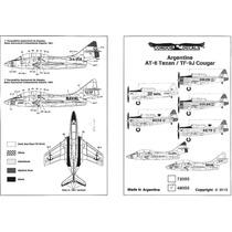 Condor Decals 48055 1/48 Argentine At-6 Texan / Tf-9j Cougar