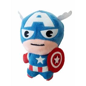 Avengers - Vengadores Mini Peluche Llavero: Capitán América