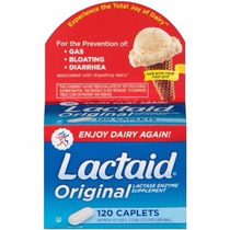 Lactaid Fast Act - Original - 120 Comp - Pronta Entrega